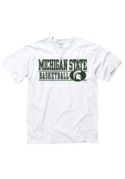 Michigan State Spartans White Dignify BB Tee
