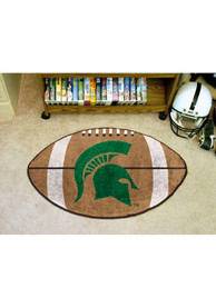 Michigan State Spartans 22x35 Football Interior Rug