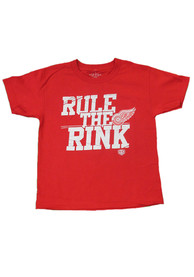 Detroit Red Wings Youth Red Youth Slice T-Shirt