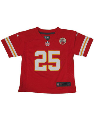 Jamaal Charles Kansas City Chiefs Baby Red Replica Game Jersey Football Jersey