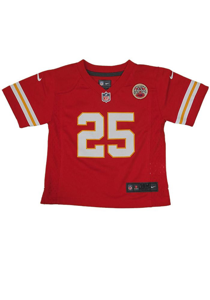 Jamaal Charles Kansas City Chiefs Baby Red Replica Game Jersey Jersey Football Jersey - Image 1