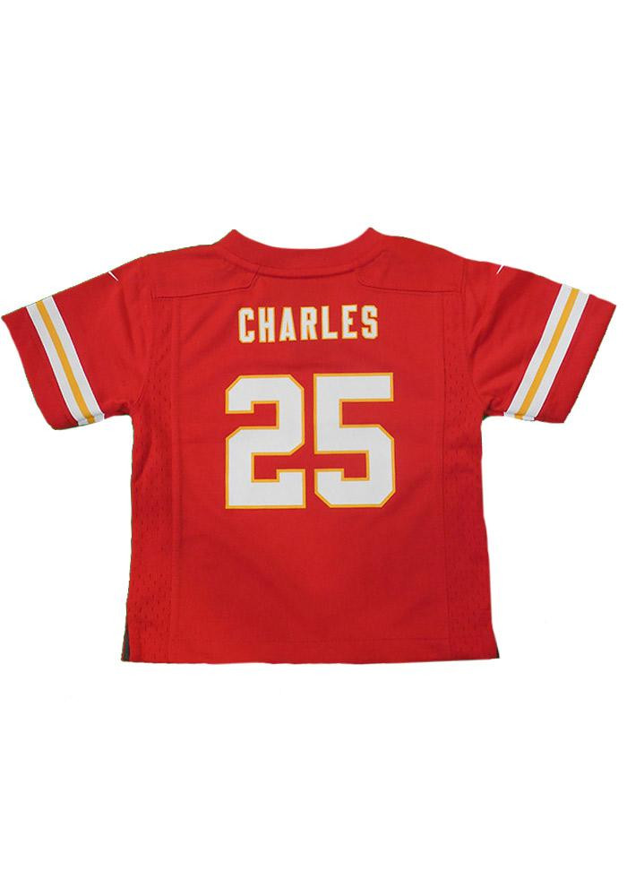 Jamaal Charles Kansas City Chiefs Baby Red Replica Game Jersey Jersey Football Jersey - Image 2