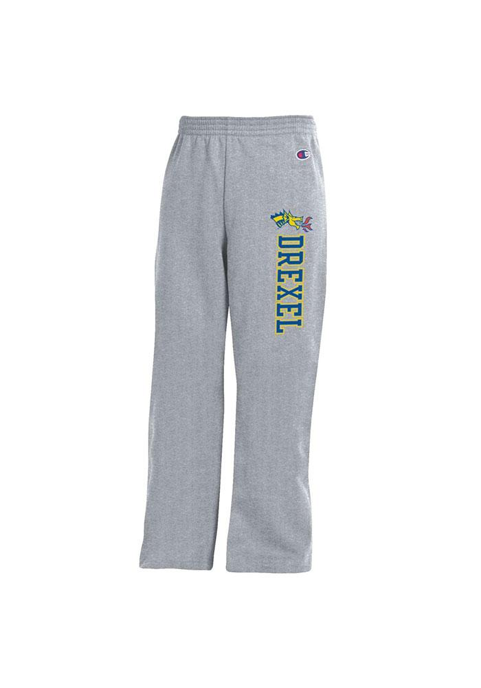 Drexel Dragons Youth Grey Powerblend Sweatpants - Image 1