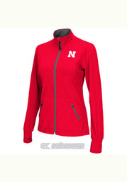 Colosseum Nebraska Womens Pride Red Medium Weight Jacket