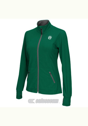 Colosseum Northwest Missouri State Bearcats Womens Pride Green Medium Weight Jacket