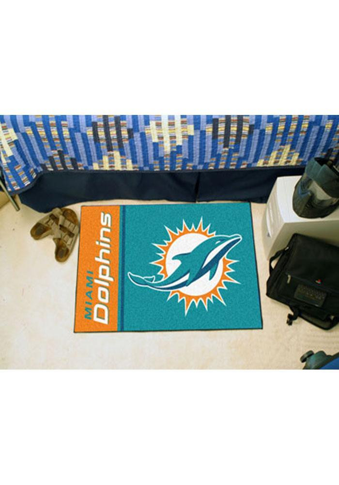 Miami Dolphins 19x30 Starter Interior Rug - Image 1