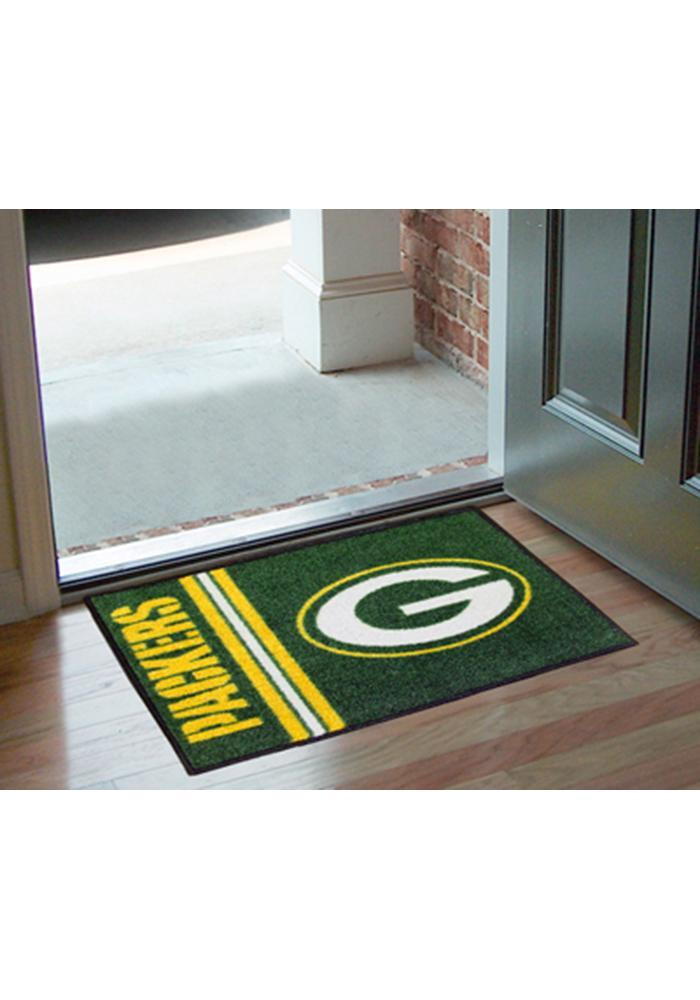 Green Bay Packers 19x30 Starter Interior Rug - Image 1