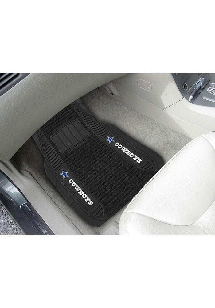 Sports Licensing Solutions Dallas Cowboys 21x27 Deluxe Car Mat - Black - Image 1