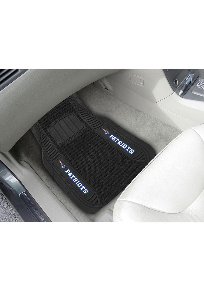 Sports Licensing Solutions New England Patriots 21x27 Deluxe Car Mat - Black - Image 1