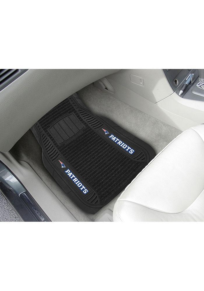 Sports Licensing Solutions New England Patriots 21x27 Deluxe Car Mat - Black - Image 2