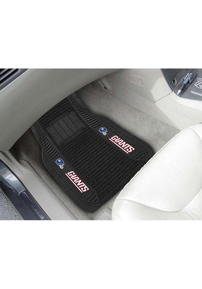 Sports Licensing Solutions New York Giants 21x27 Deluxe Car Mat - Black - Image 1