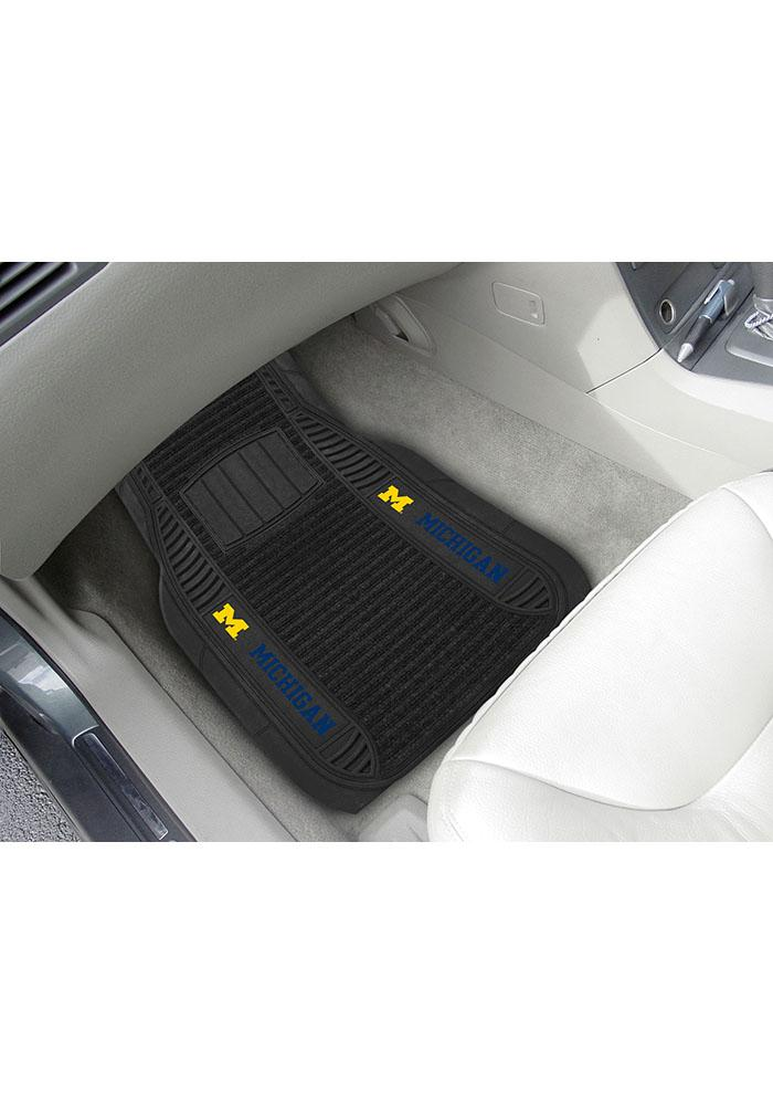 Michigan Wolverines 20x27 Deluxe Car Mat - Image 2