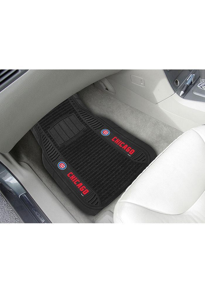 Chicago Cubs 20x27 Deluxe Car Mat - Image 1