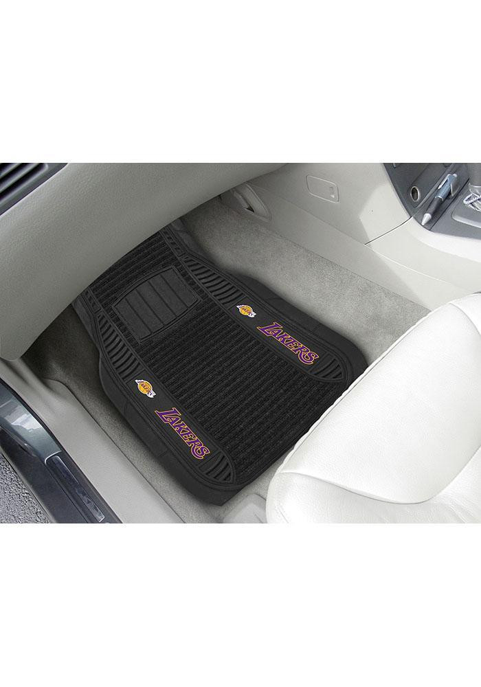 Los Angeles Lakers 20x27 Deluxe Car Mat - Image 1