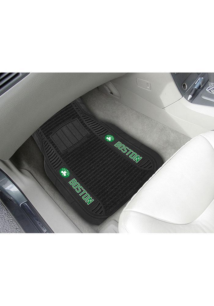 Boston Celtics 20x27 Deluxe Car Mat - Image 1
