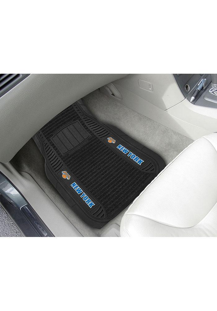 New York Knicks 20x27 Deluxe Car Mat - Image 1