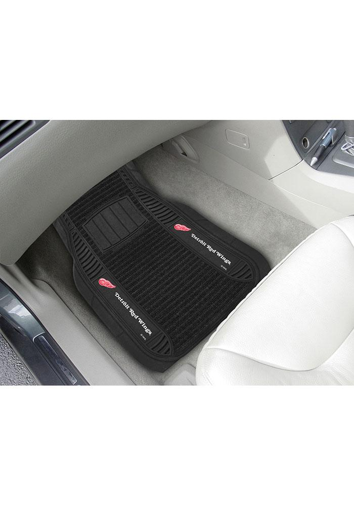 Detroit Red Wings 20x27 Deluxe Car Mat - Image 2