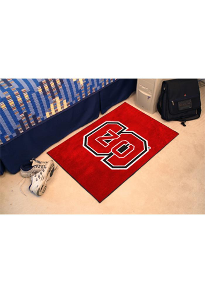 NC State Wolfpack 20x30 Starter Interior Rug - Image 1