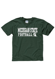 Michigan State Spartans Youth Green Dignify T-Shirt