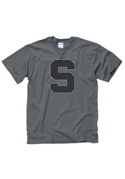 Michigan State Spartans Charcoal Shady Logo Tee