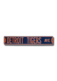 Detroit Tigers Ave Street Sign