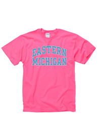 Eastern Michigan Eagles Juniors Pink Fashion Practice Unisex Tee