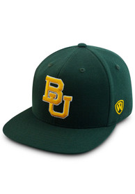 Baylor Bears Top of the World Prime Fitted Hat - Green
