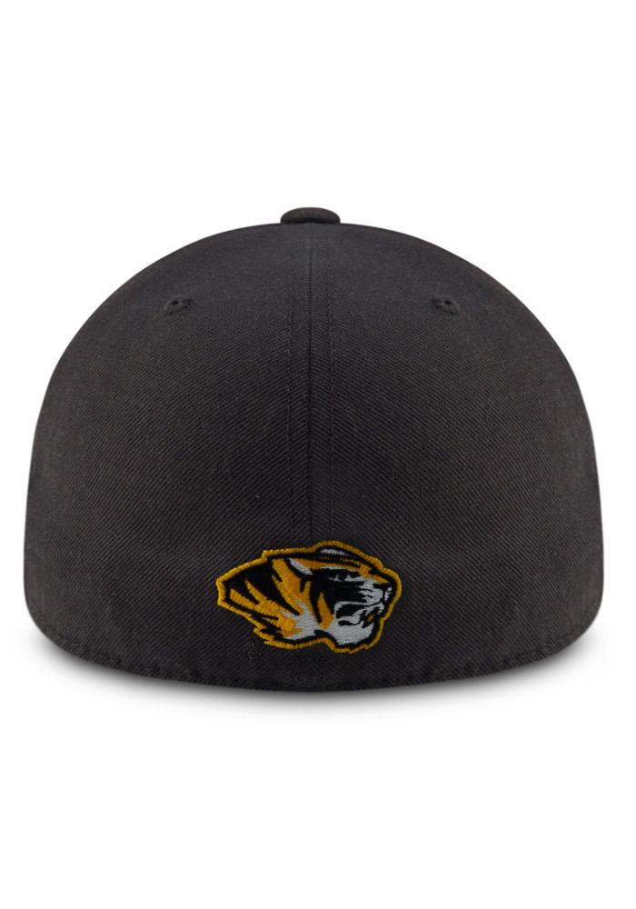 Top of the World Missouri Tigers Mens Grey Prime Fitted Hat - Image 3
