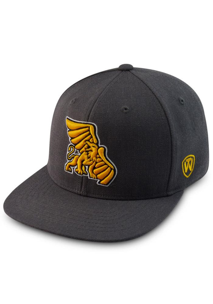 Top of the World Missouri Western Griffons Mens Grey Prime Fitted Hat - Image 1