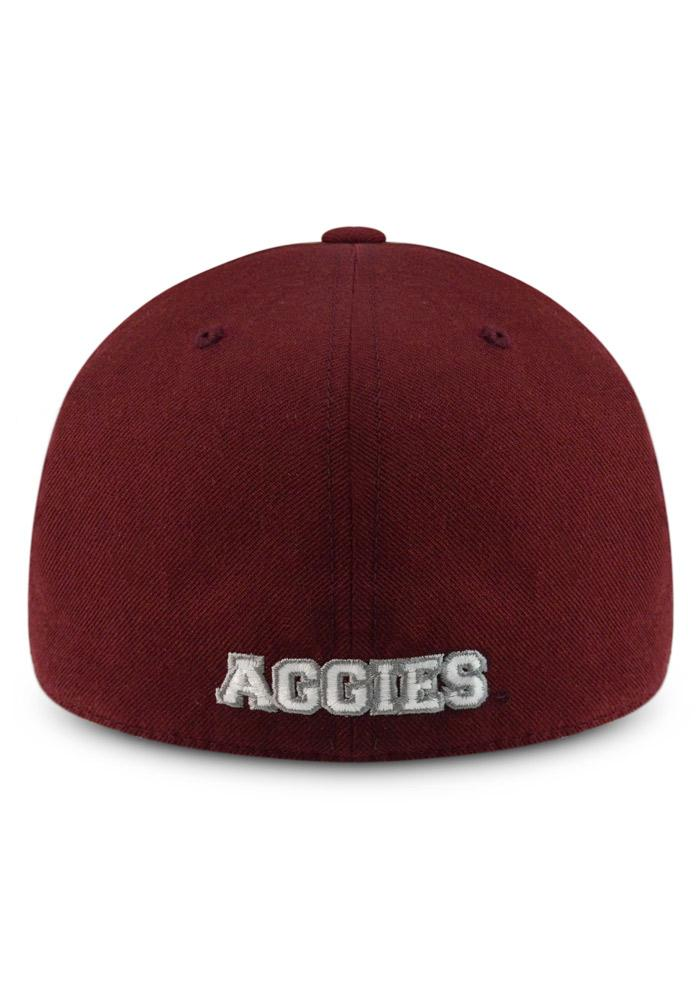 Top of the World Texas A&M Aggies Mens Maroon Prime Fitted Hat - Image 3