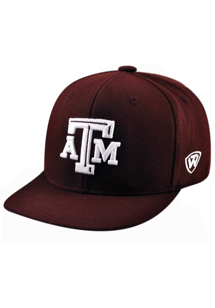 Texas A&M Aggies Top of the World Slam 1Fit Flex Hat - Maroon