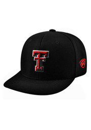 Top of the World Texas Tech Red Raiders Mens Black Slam 1Fit Flex Hat