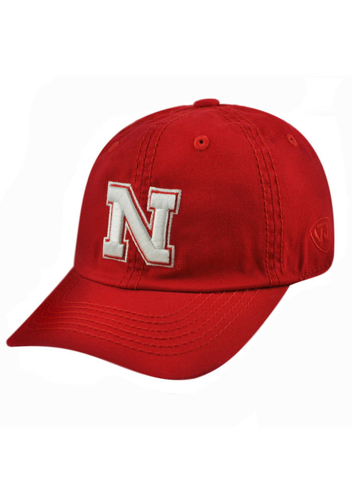 Top of the World Nebraska Cornhuskers Baby Crew Adjustable Hat - Red - Image 1