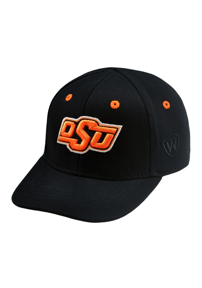 Top of the World Oklahoma State Cowboys Black Cub 1Fit Kids Flex Hat - Image 3