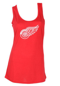 Detroit Red Wings Womens Bliss Tank Top - Red
