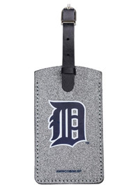Detroit Tigers Sparkle Luggage Tag - Blue