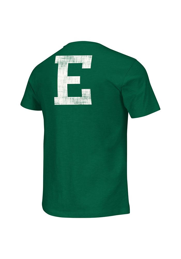Colosseum Eastern Michigan Eagles Mens Green Horizon Short Sleeve Fashion T Shirt - Image 1