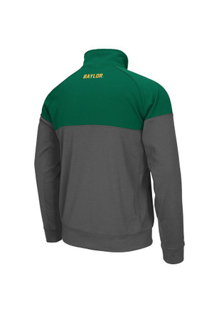 Colosseum Baylor Bears Mens Green Charger Track Jacket