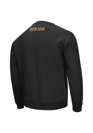 Colosseum Western Michigan Broncos Mens Black Zone Sweatshirt