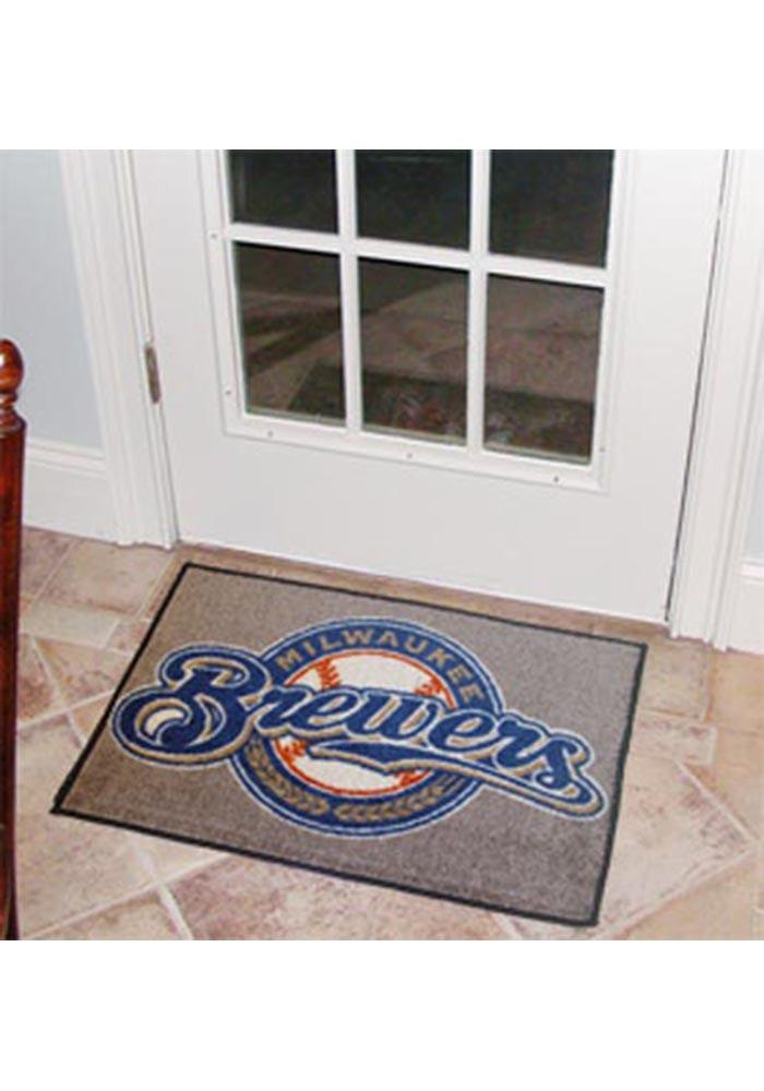 Milwaukee Brewers 19x30 Starter Interior Rug - Image 1