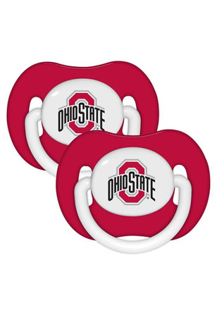 Ohio State Buckeyes Team Color 2 pack Pacifier