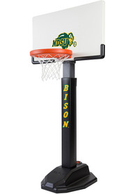 North Dakota State Bison Junior Adjustable Basketball Set