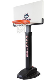 UConn Huskies Junior Adjustable Basketball Set