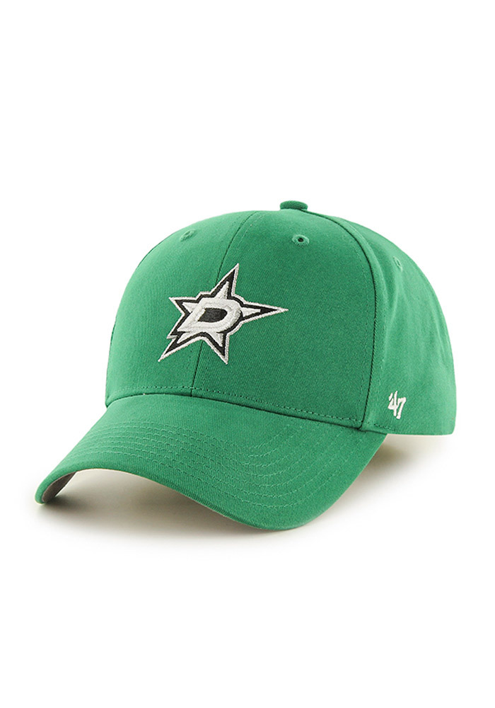 Dallas Stars Green Basic MVP Youth Adjustable Hat - Image 1