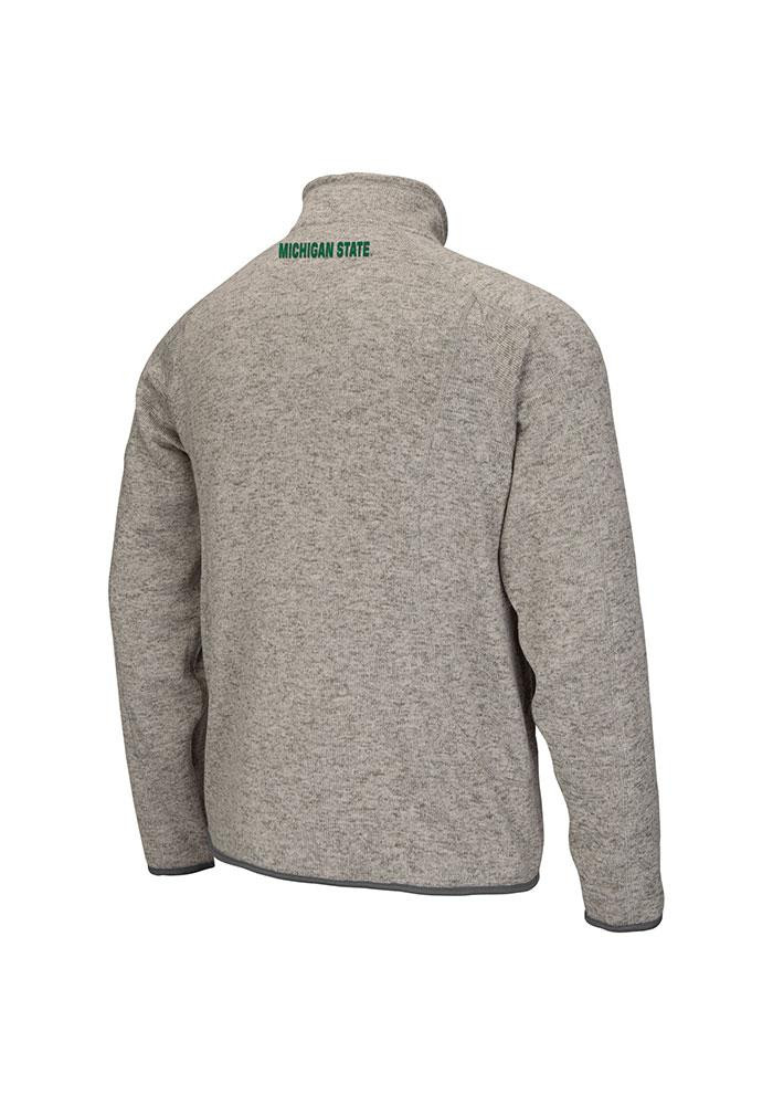 Colosseum Michigan State Spartans Mens Grey Backcountry Medium Weight Jacket - Image 3