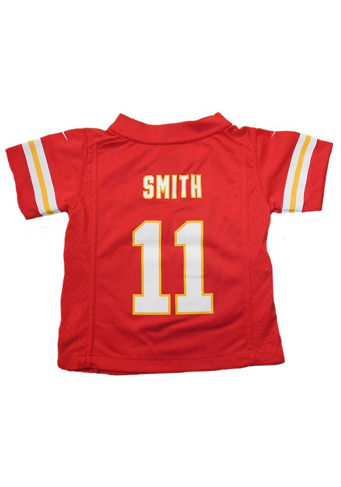 Alex Smith Kansas City Chiefs Toddler Red Game Jersey - Image 2