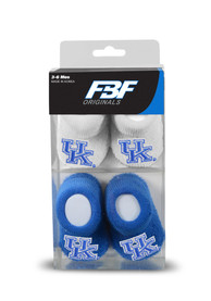 Kentucky Wildcats Baby 2pk Knit Bootie Boxed Set - Blue