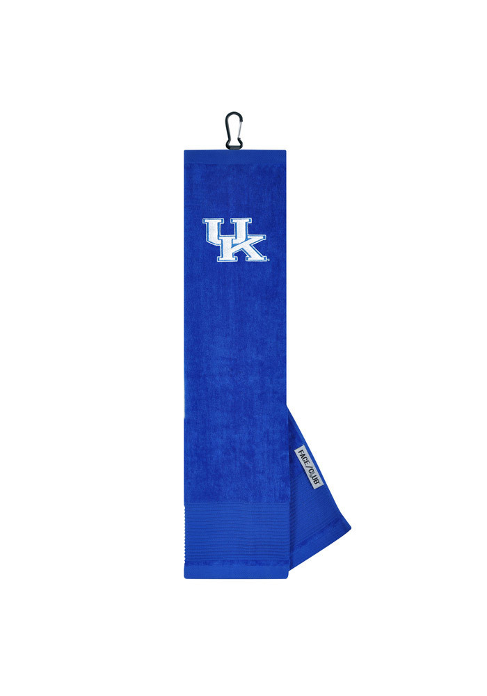 Kentucky Wildcats 16x24 Embroidered Tri-Fold Golf Towel - Image 1