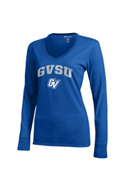 Grand Valley State Lakers Juniors Blue Campus T-Shirt