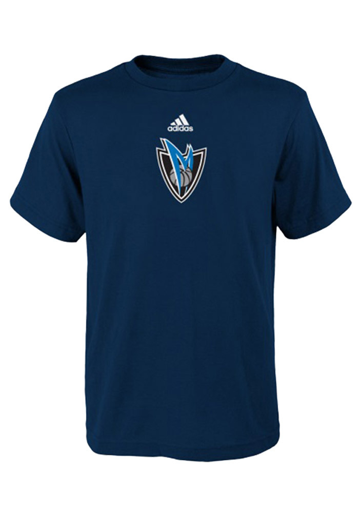 Dallas Mavericks Boys Blue Boys 4-7 Pregame Short Sleeve T-Shirt - Image 1